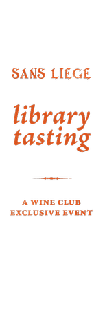 Sans Liege Library Tasting
